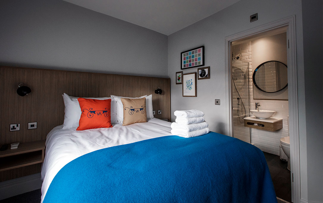 double room at The Victoria Inn, Public House and Boutique Hotel, Peckham